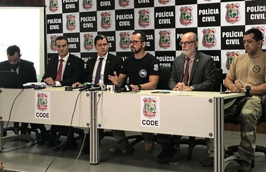 """""""Todos os chefes de organizações criminosas serão presos"""", afirma secretário André Costa"""