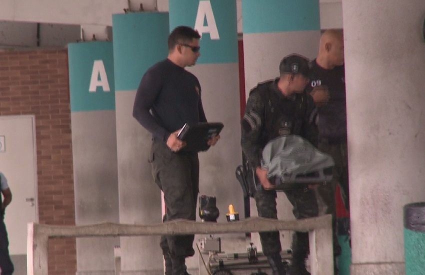 Mochila que causou isolamento do terminal de Messejana tinha apenas fralda e papéis molhados