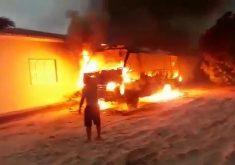 Ataques chegaram a Jericoacoara, paraíso turístico do Ceará (FOTO: Reprodução Whatsapp)
