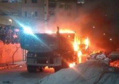 O caso aconteceu no bairro Papicu (FOTO: Reprodução/Whatsapp)