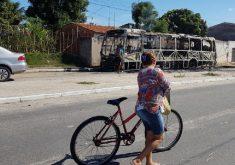 Por causa dos ataques, a frota de ônibus foi reduzida, especialmente no final de semana, e pontos turísticos, como Centro Fashion, foram fechados. (FOTO: Dorian Girão / TV Jangadeiro)