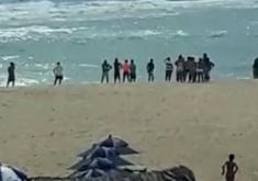 Equipes de resgate foram acionadas (FOTO: Reprodução WhatsApp)