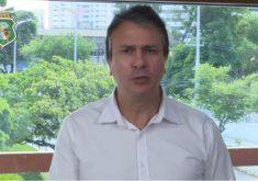 Camilo Santana disse que não vai recuar contra o crime. (Foto: Reprodução)