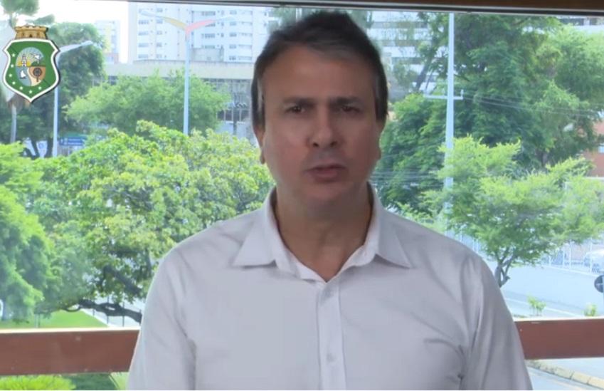 """""""Endureceremos cada vez mais contra o crime"""", diz Camilo Santana no 4° dia de ataques"""