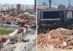 Já é o 3ª dia de ataques em Fortaleza e Região Metropolitana (FOTO: Reprodução/ Whatsapp)