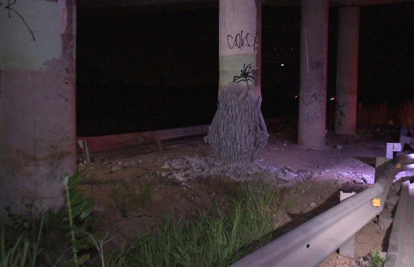 """""""Pensei que era um meteoro"""", diz morador após explosão em viaduto de Caucaia"""