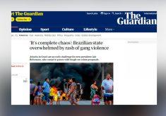 Cearenses acompanham a situação mesmo estando fora do País (FOTO: Reprodução site The Guardian)