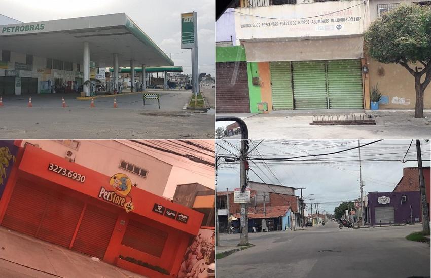 Comércios são fechados por todo o Ceará após ordem de facções criminosas