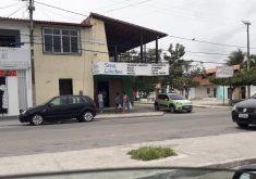 Todos os setores do comércio vem sentindo a onda de ataques que vem acontecendo no Ceará (FOTO: Reprodução/ Whatsapp)