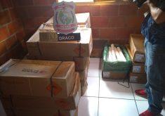 Os explosivos foram encontrados em um dos apartamentos do condomínio Leonel Brizola (FOTO: Reprodução/ TV Jangadeiro)