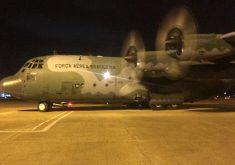 Agentes da Força Nacional desembarcaram em Fortaleza na sexta-feira (FOTO: Reprodução/Whatsapp)