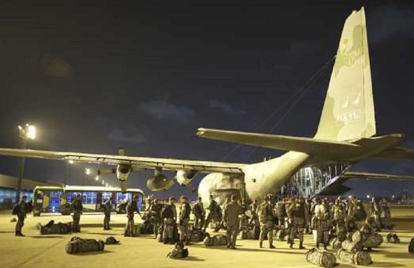 Fortaleza recebe mais 200 agentes da Força Nacional; efetivo supera 500 policiais federais