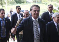 """Jair Bolsonaro lembrou que governador do Ceará """"tem posição radical"""" a seu governo. (Foto: Antonio Cruz/Agência Brasil)"""