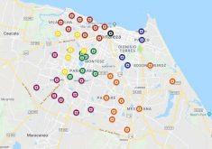 Ataques criminosos abrangem toda a Fortaleza. (Foto: Reprodução)