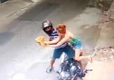 moto, mulher