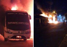 Mais ataques foram registrados no estado (FOTOS: Reprodução/Whatsapp)