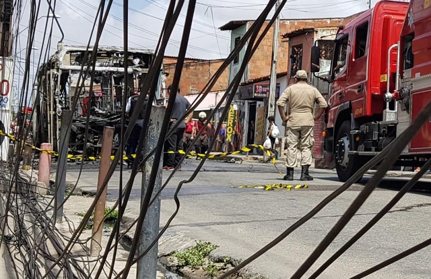 Fotos mostram a gravidade dos ataques criminosos no Ceará