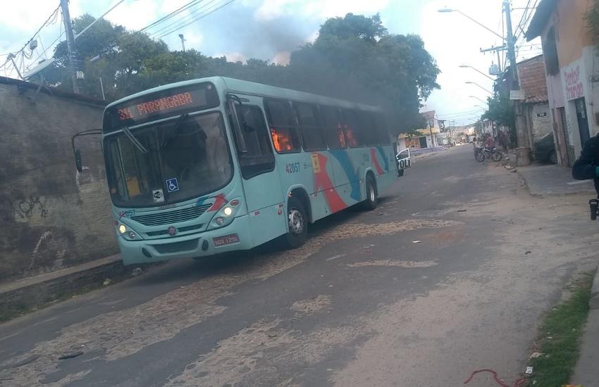 Em 1 semana, Fortaleza já tem metade do número de ônibus incendiados em 2018
