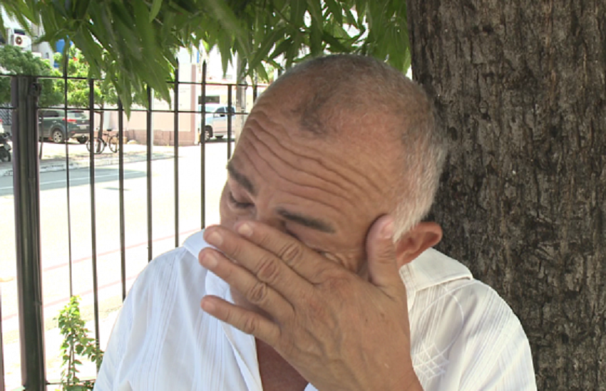 Cearense faz vaquinha virtual para ajudar motorista que teve van incendiada