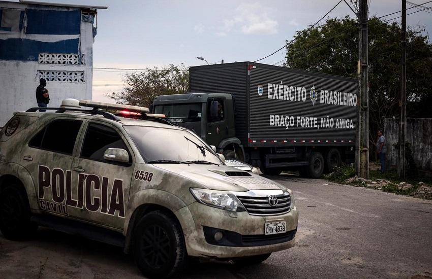 Sobe para 358 o total de capturados por suspeita de envolvimento em onda de terror no Ceará