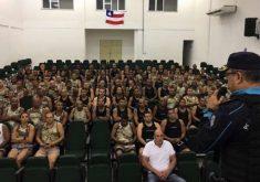 Policiais militares da Bahia vão atua no interior do Ceará. (Foto: Divulgação)