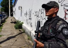 Mais uma suspeita de bomba foi descartada em Fortaleza (FOTO: Dorian Girão/ TV Jangadeiro)