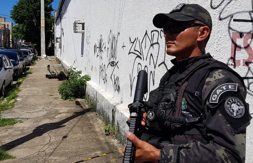 Mais uma suspeita de explosivos ocupa esquadrão antibombas por 2 horas em Fortaleza
