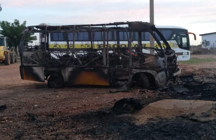 100% das vans de Fortaleza são retiradas de circulação para evitar ataques de facções