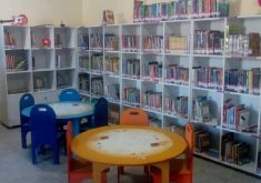 Biblioteca Comunitária Professor CL. Leônidas Magalhães. (Foto: Reprodução/Jangada Literária)