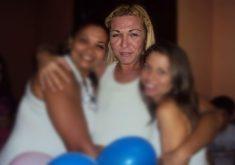 Foto de Dandara dos Santos tirada por Vitória Holanda durante comemoração. (Foto: Arquivo pessoal)