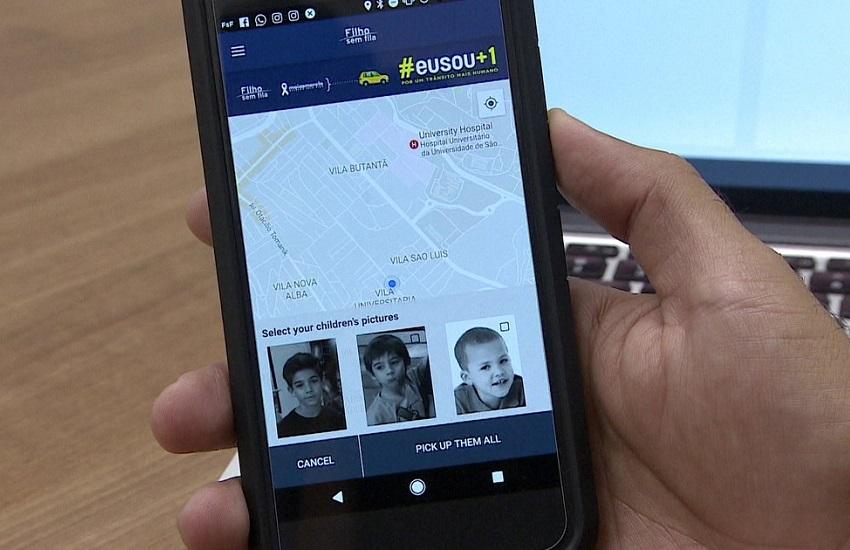 Escolas em Fortaleza adotam app para evitar caos no trânsito no embarque de alunos