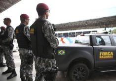 Força Nacional está no Ceará há mais de 30 dias. (Foto: Agência Brasil)