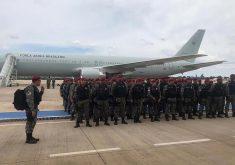 Agentes da Força Nacional chegaram a Fortaleza em 4 de janeiro. (Foto: FNSP)