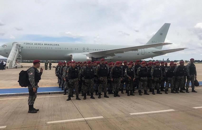Força Nacional começa retirada do Ceará nos próximos dias, adianta General Theophilo