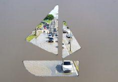 Alagamentos na cidade de Fortaleza