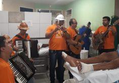 Eles fazem visitas uma vez por mês em hospitais (FOTO: Arquivo Pessoal)