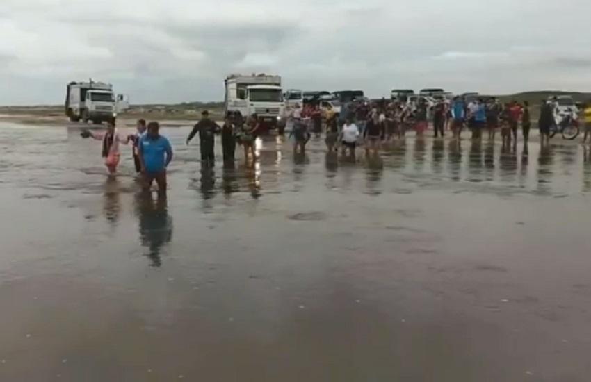 Com subida de rios, profissionais de Jeri alertam para riscos do transfer por conta própria