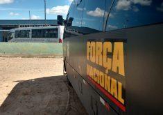 Mais de 400 agentes da Tropa Federal estiveram no Ceará (FOTO: Dorian Girão)