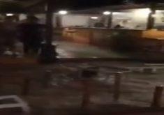 As chuvas foram intensas em Jeri (FOTO: Reprodução/Whatsapp)