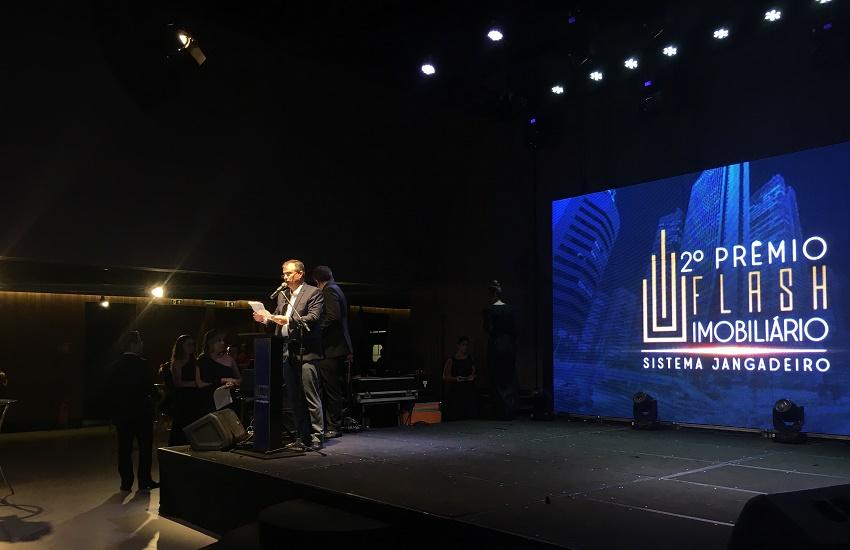 2º prêmio Flash Imobiliário Sistema Jangadeiro reconhece trabalho de empresas do setor no Ceará