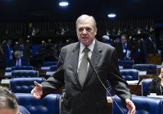 Tasso Jereissati mostrou preocupação com desorganização do Governo Bolsonaro. (Foto: Roque de Sá/Agência Senado)
