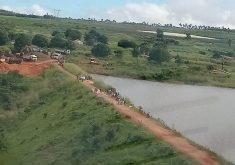 Medidas de contenção da erosão já foram concluídas (FOTO: Reprodução Whatsapp)