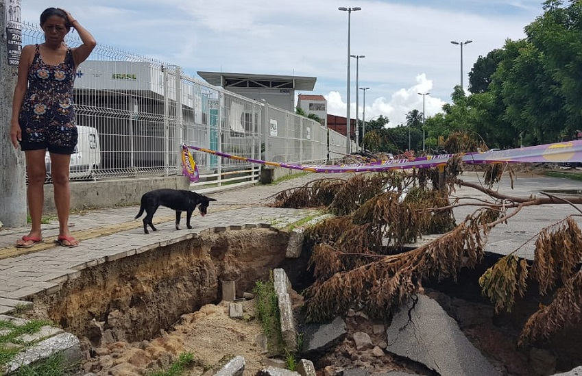 Cratera no Vila Velha
