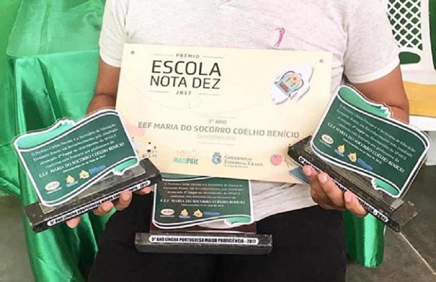 Agricultor na infância, professor inspira alunos em Quixeramobim