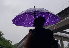 Fortaleza registrou chuva de 36 milímetros (FOTO: Dorian Girão/TV Jangadeiro)