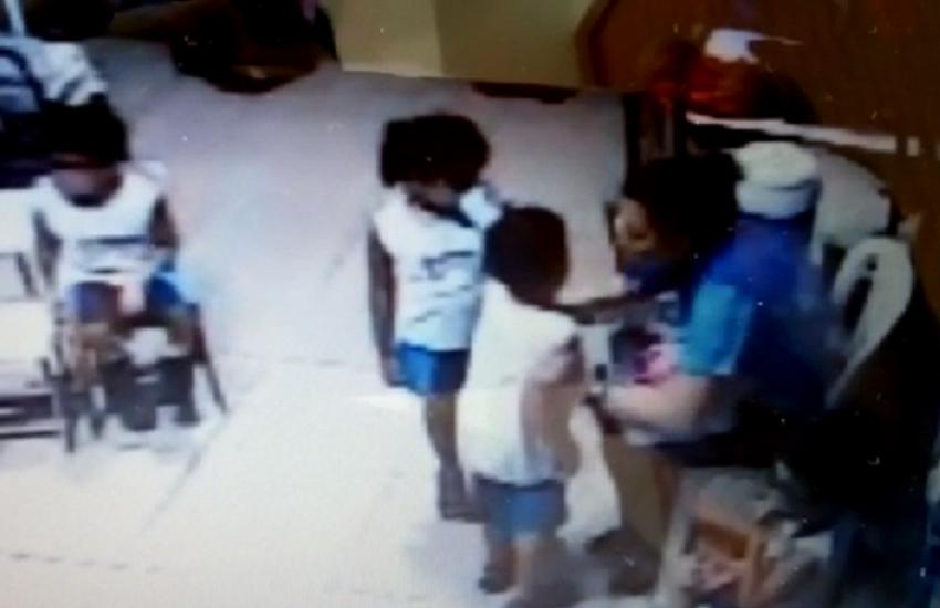 O caso aconteceu em uma escola infantil em Caucaia (FOTO: Reprodução)
