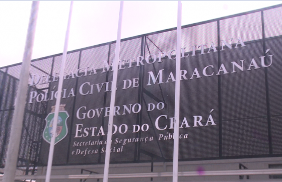 O inquérito policial foi aberto na Delegacia Metropolitana de Maracanaú (FOTO: Reprodução/TV Jangadeiro)
