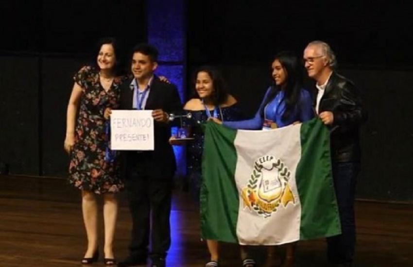 Alunos de 3 escolas do interior do Ceará conquistam vaga na maior feira de ciências do mundo