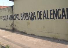 O caso aconteceu na manhã desta quarta-feira em uma escola municipal(FOTO: Reprodução/ TV Jangadeiro)