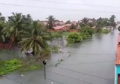 A cidade registrou um dos maiores acumulados de chuva do ano (FOTO: Eliakin Silveira/ Repórter Ceará)